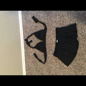 Other - Black Bikini with Skirt Bottom